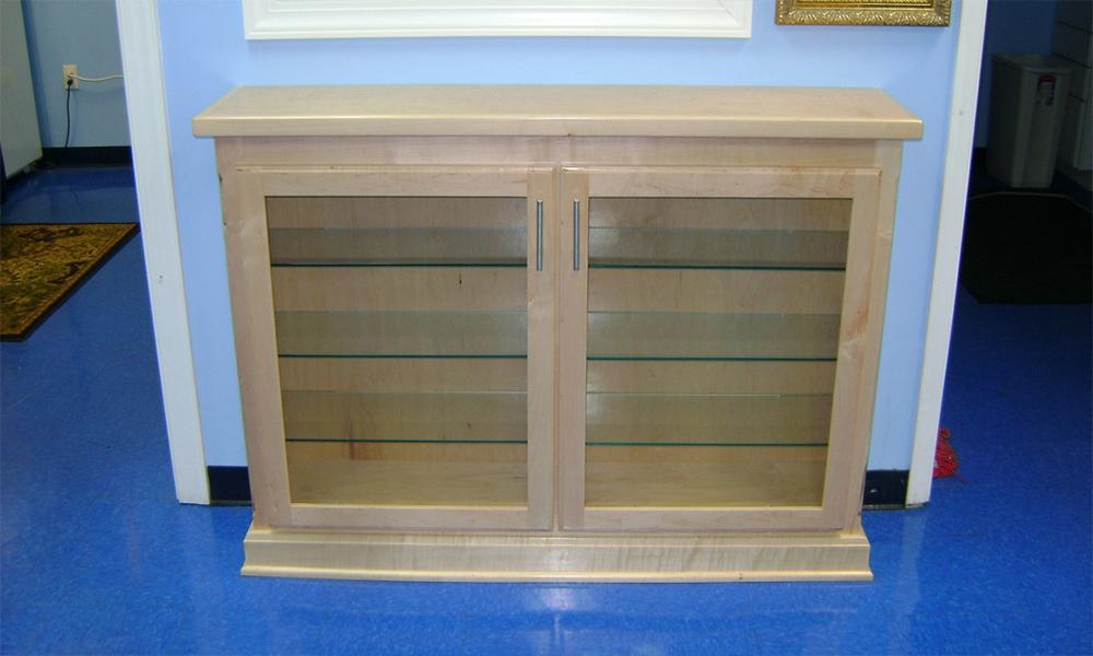 custom display and storage cabinetry Raleigh Durham NC